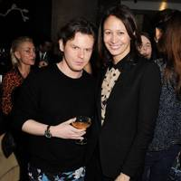 Christopher Kane and Caroline Rush
