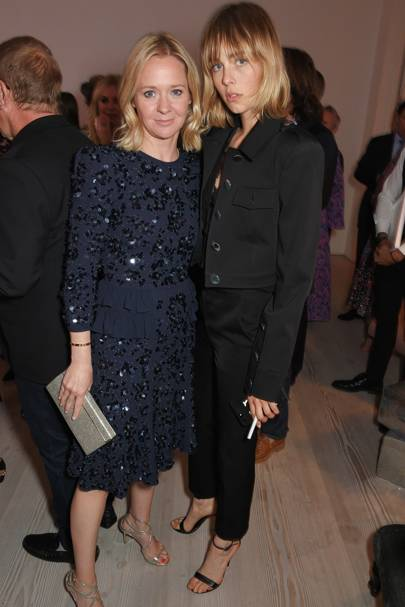 Kate Reardon and Edie Campbell