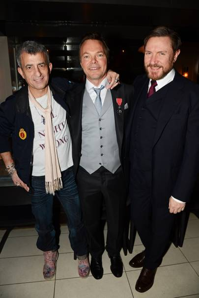 Jake Panayiatou, Pete Tong and Simon Le Bon