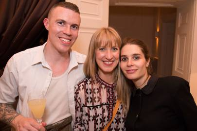 Alexander Breeze, Jessica Doyle and Florence Rolfe