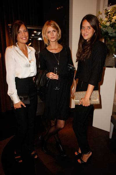 Amanda Sheppard, Jacquetta Wheeler and India Langton