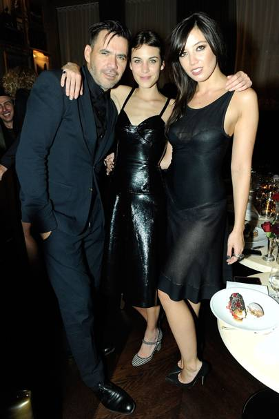 Roland Mouret, Alexa Chung and Daisy Lowe