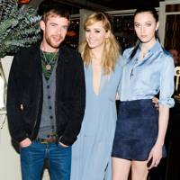 Harry Treadaway, Suki Waterhouse and Matilda Lowther