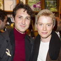 Ben Lloyd-Hughes and Freddie Fox