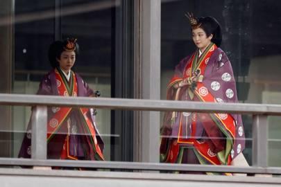 Princess Kako and Princess Mako of Japan