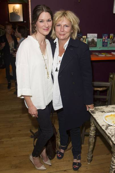 Patricia Potter and Jennifer Saunders