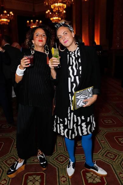 Camille Walala and Julia Jomaa