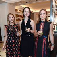 Gemma Sort Chilvers, Imogen Phillips and Lady Marina Windsor