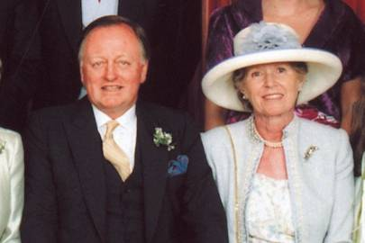 Brigadier and Mrs Andrew Parker Bowles