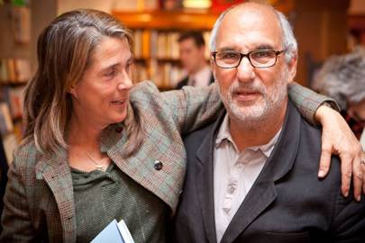 Molly Dineen and Alan Yentob