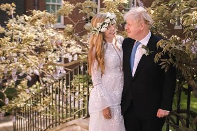 Boda Boris Johnson y Carrie Symonds