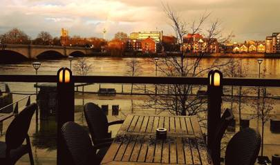 Boathouse Putney