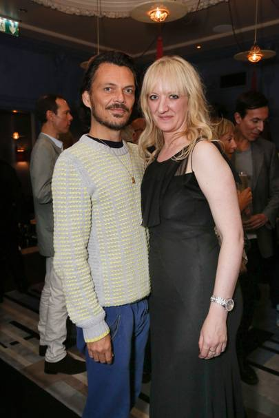 Matthew Williamson and Camilla Morton