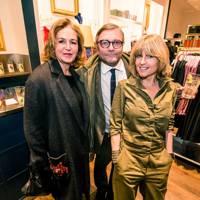 Caroline Michel, Ivo Dawnay and Rachel Johnson