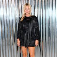 Kate Moss at the Longchamp show