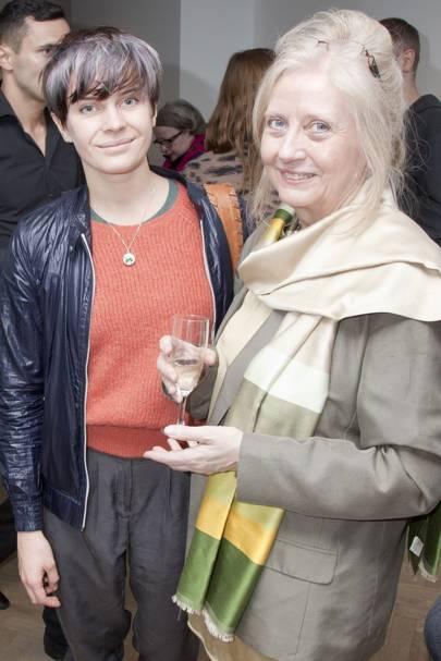 Grace Boyle and Celia Cummings
