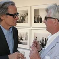 Bill Nighy and Vaughan Grylls