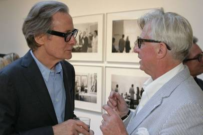 Bill Nighy and Vaughan Grylls