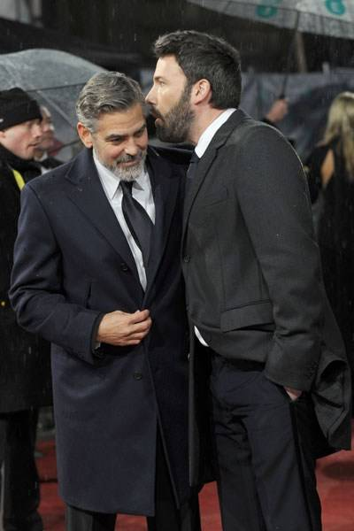 The 'I Love You, Man' Prize for Bromance: George Clooney and Ben Affleck