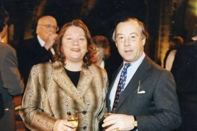 Mrs Adrian McAlpine and Adrian McAlpine