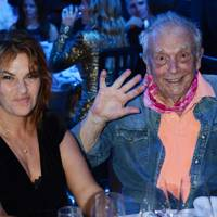 Tracey Emin and David Bailey