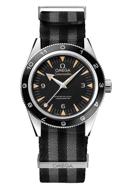 Seamaster 300 Spectre Limited Edition watch, £4785, Omega