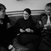 Sophie Hicks, Tallulah Harlech and Edie Campbell