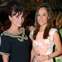 Gizzi Erskine and Pippa Middleton