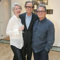 Megan Piper, Bill Nighy and Andrew Morris