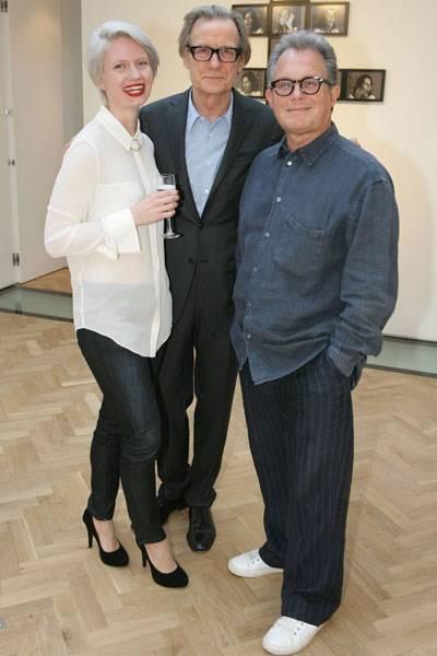 Megan Piper, Bill Nighy and Andrew Morris