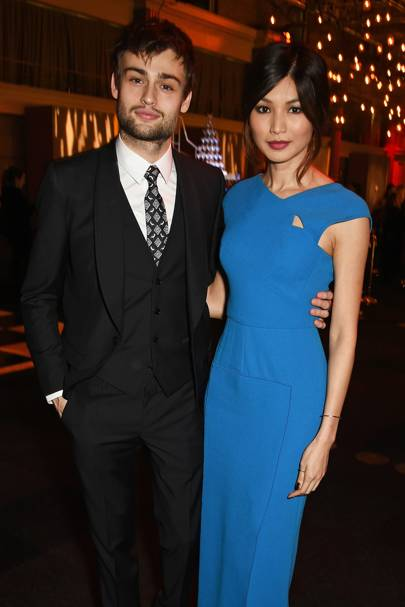 Douglas Booth and Gemma Chan