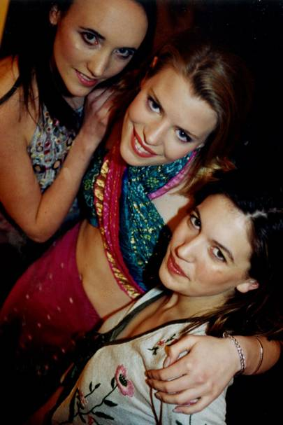 Charlotte Russel-Stoneham, Annabel Glynne-Percy and Amanda Sheppard