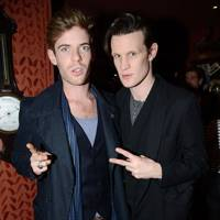 Harry Treadaway and Matt Smith