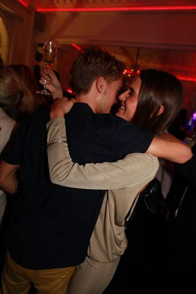 Oliver Proudlock and Emma Shenkman
