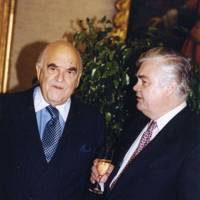 Lord Weidenfeld and Lord Lamont