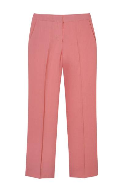 Linen trousers, £205, by Max Mara
