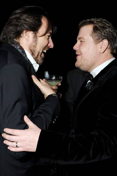 Jonathan Ross and James Corden