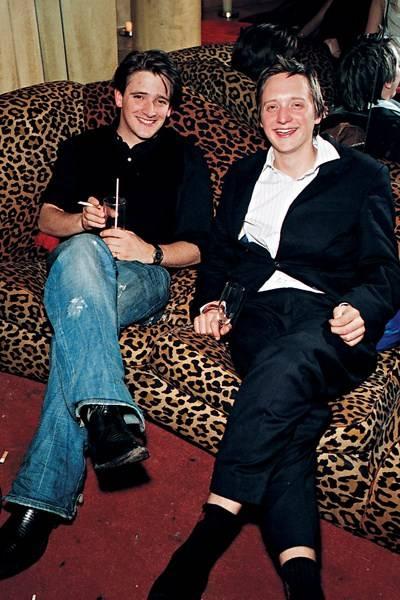 Charlie Hart and Jonathan Jackson