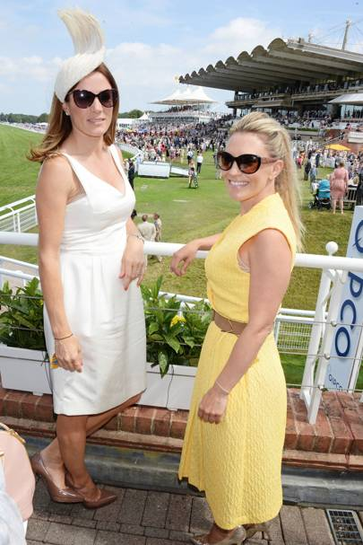 Natalie Pinkham and Georgie Thompson