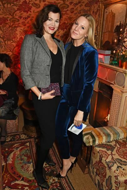Jasmine Guinness and Alice Naylor-Leyland