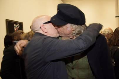 Brian Clarke and Bob Geldof