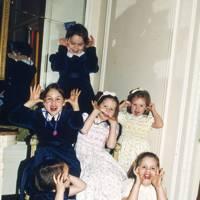 Josephine Shenkman, Emma Shenkman, Nina Shenkman, Harriet Rawlinson, Anna Rawlinson and Alicia Meinertzhagen