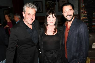 Danny Huston, Anjelica Huston and Jack Huston
