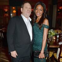 Harvey Weinstein and Naomie Harris