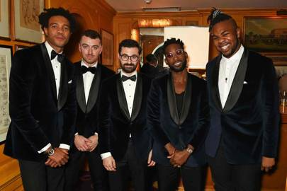 Charlie Casely-Hayford, Sam Smith, Jimmy Napes, Tinie Tempah and MNEK