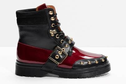 & Other Stories biker boots