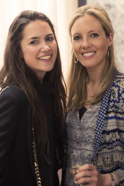 Victoria Schaad and Emily Gomme