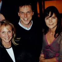 Mrs Alistair Macdonald-Buchanan, Guy Thomas and Mrs John Lorimer