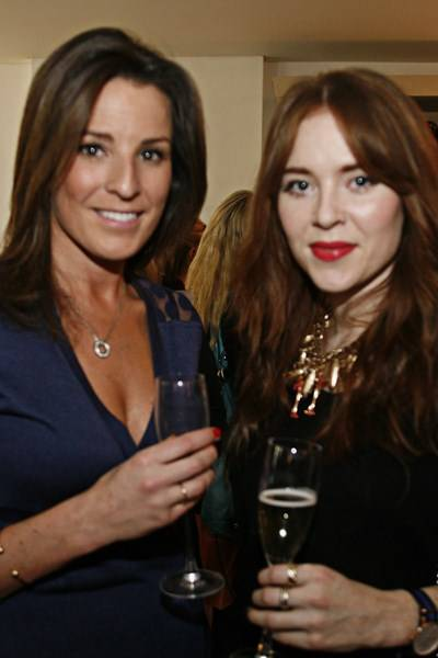 Nicola McClafferty and Angela Scanlon