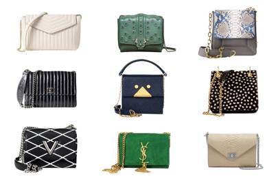 2ad41bf07 Chain bags trend - best chain bags - Chanel, Saint Laurent, Mulberry ...